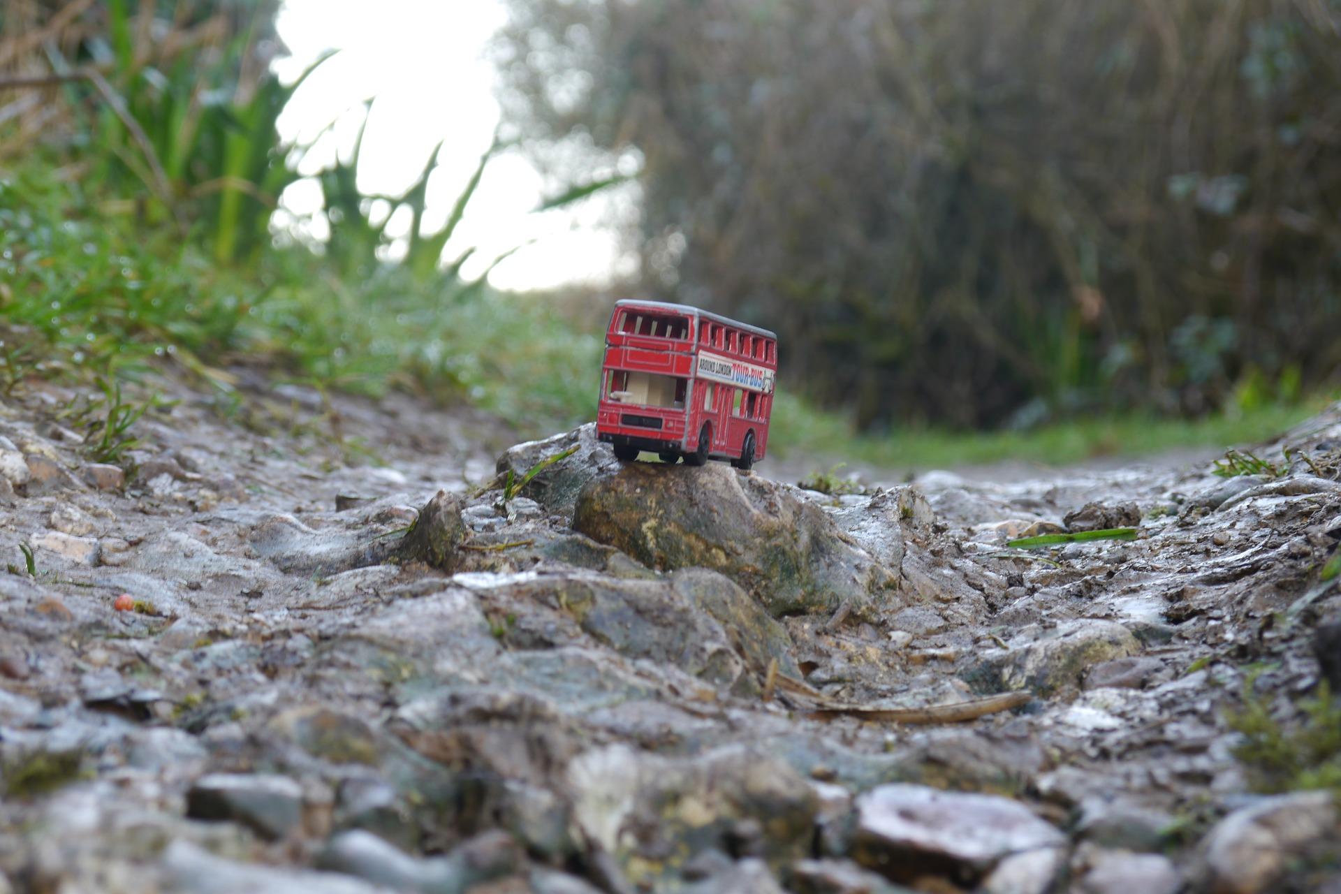 bus bumpy road